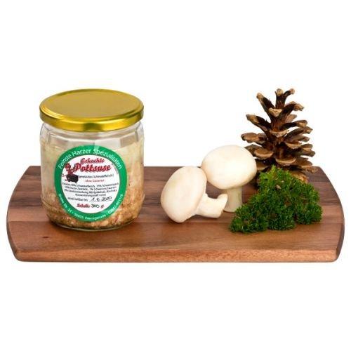 Pottsuse | herzhafte Streichwurst aus Schweinefleisch | Harzer Wurstspezialität im praktischen Einweckglas