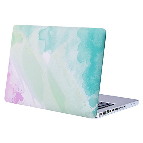 MOSISO Custodia Rigida Compatibile con Vecchio MacBook PRO 13 Pollici A1278 con CD-Rom(Versione Anticipata 2012/2011/2010/2009/2008),Plastic Case Cover Rigida Copertina,Foschia del Rainbow