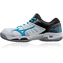 Mizuno Shoes Tennis Officially Wave Exceed SL CC Clay Court WOS 61GC165525 Bianco Turchese Blu Size 39 SHIPPED FROM ITALY