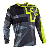 YGQersh T-Shirt de Cyclisme en Plein air de Moto de vélo de vélo de Cyclisme de vélo de Jersey Jersey Unisexe - XXXL Rouge