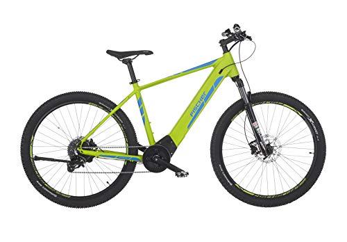"FISCHER E-Bike MTB MONTIS 6.0i (2019), grün matt, 27,5"", RH 48 cm, Brose Mittelmotor 90 Nm, 36V Akku im Rahmen"