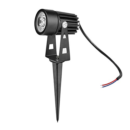 LemonBest® Spotlight 12V DC Paisaje al aire libre de aluminio fundido LED...