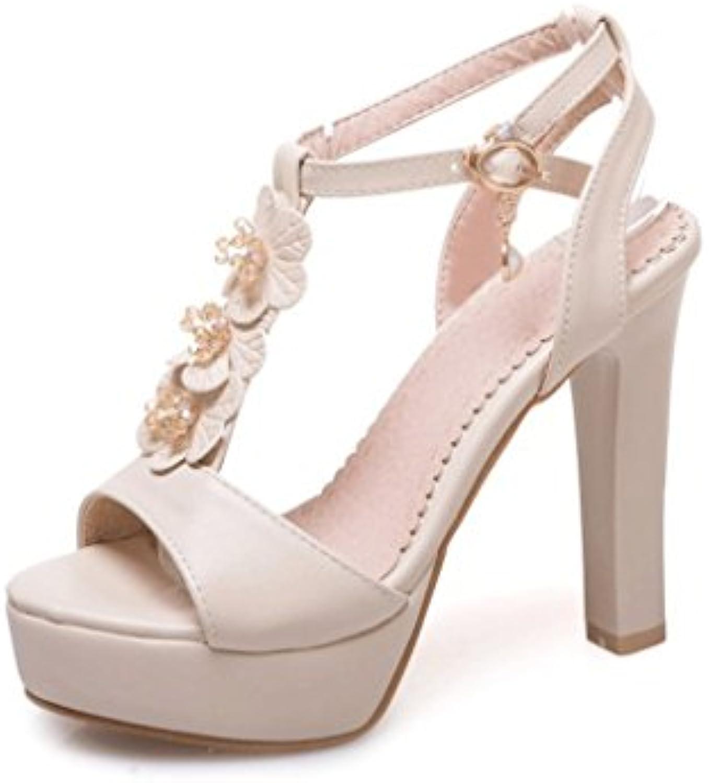 hjhy & reg; sexy talons de de de façon simple plateforme étanche épais sandales sandales b07dbcpzvc parent | Convivial  eeb55c