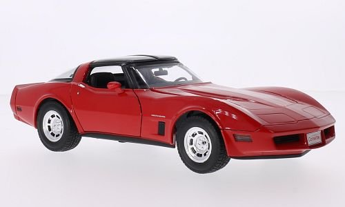 chevrolet-corvette-rouge-1982-voiture-miniature-miniature-deja-montee-welly-118
