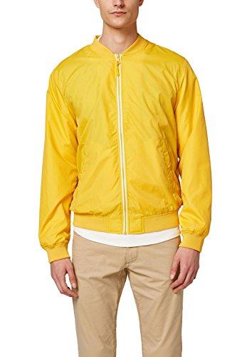 ESPRIT Herren Jacke 048EE2G001, Gelb (Yellow 750), Large