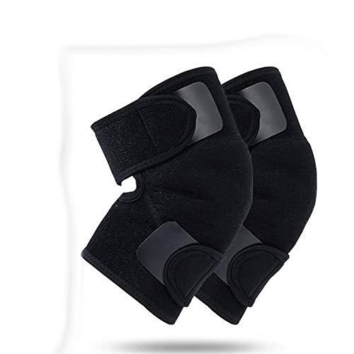 WSXG Knieunterstützungskompressionshülse selbsterhitzender Magnet einstellbare Gel-Knieschützer tragen warme Schutzausrüstung für Erwachsene im Freien zur Schau -