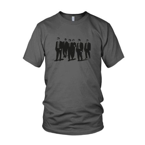 Dogs - Herren T-Shirt, Größe: XXL, Farbe: grau (Orange T-shirt Agent)