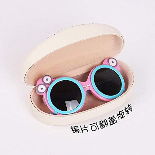 CYCY Kinder Sonnenbrille Junge Cartoon niedlichen UV-Kinder Brille Silikon polarisierte Flut Mädchen Baby Sonnenbrille Converse rosa Schwein, rosa Frosch Flip