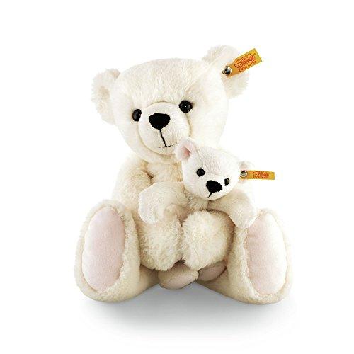 Steiff 113697 - Teddybär Set Marie und Lisa 32, creme