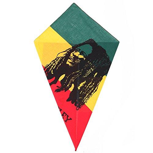 Bandana Bob Marley Portrait / Porträt Kopf / ()