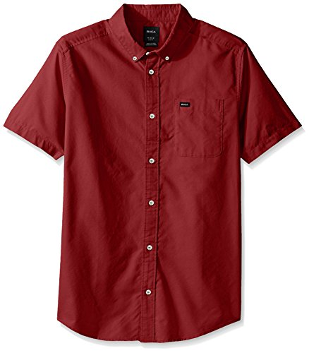 rvca-hommes-qui-va-faire-oxford-bouton-manches-courtes-chemise-small-poppy-red