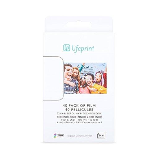 Lifeprint Impresora  Imprime fotos desde Instagram, Facebook y fotos Apple Live Photos.