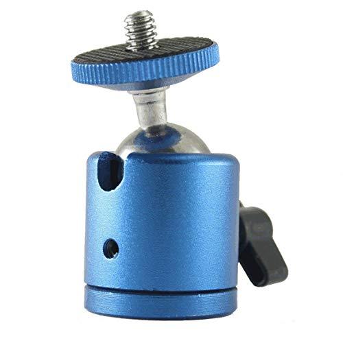 EXMAX® Mini Stativ-Kugelkopf mit 0,6 cm (1/4 Zoll) Schraubgewinde -