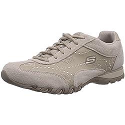 Skechers Speedsters, Low-Top Sneaker donna, Grigio (Grau (TPE)), 38