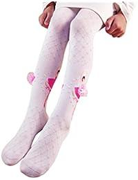 Voberry Voberry Baby-Girl's Dancer Print Soft Print Socks Pantyhose Dancing Wear