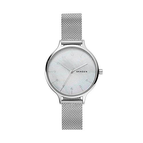 8f67555d6815 Skagen Reloj Analogico para Mujer de Cuarzo con Correa en Acero Inoxidable  SKW2701 ...