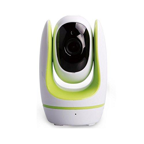 Preisvergleich Produktbild FOSBABY HD Baby Kamera * 1,0 Megapixel * 1280 x 720 P * WPS * Temperaturanzeiger * Musikwiedergabe, grün