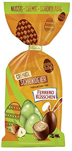 Ferrero Küsschen cremige Schokoeier zu Ostern,  100 g