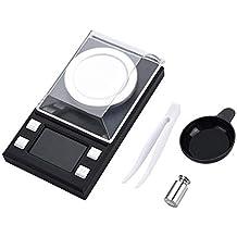FTVOGUE Mini LCD Escala Digital Portátil de Bolsillo Electrónico Escala de Alta Precisión 0.001g Joyería