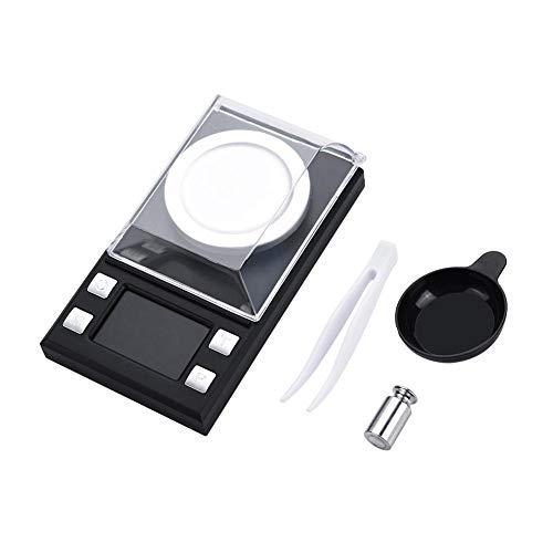 Tragbare Mini LCD Digital Elektronische Taschenwaage Hohe Präzision 0,001g Schmuck Gold Wiegen(100g)