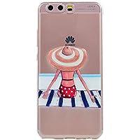 Huawei P10 Plus Hülle, Cozy Hut® [Dream Girls Series] Soft Flex Silikon [Transparent] Premium TPU Capsule Luftpolster... preisvergleich bei billige-tabletten.eu