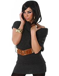 lili Damen Longshirt mit Gürtel