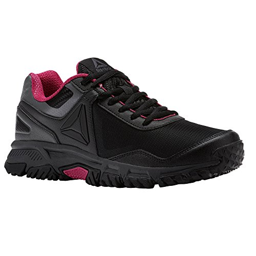 Reebok Ridgerider Trail Damen Laufschuhe, 3.0, schwarz (Black/Ash Grey/Acid Pink)