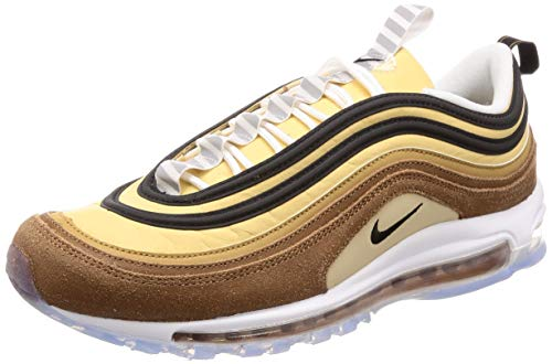 Nike Air Max 97, Scarpe da Running Uomo, Marrone (Ale Brown/Black/Elemental Gold 201), 41 EU