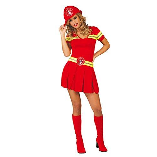 Costume da pompiera adulta vigili del fuoco