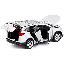 GYZS-TOY 1:32 Honda CRV Modelo de Coche de aleación de Seis Puertas