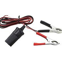 Chytaii Autobatterie Anschluss Klammer Auto Zigarettenanzünder-Buchse Adapter 15A
