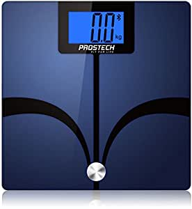 PROSTECH Smart Scales - Bluetooth Body Fat Analyser. Works with Apple Health for iPhone and selected Android Devices. Monitor your weight loss with these digital bathroom scales