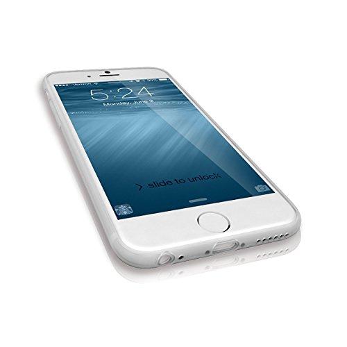 Rydges Designer High Quality Crystal PTU–Case per Apple iPhone custodia silicone cover borsa (kristalltransparent) ((iPhone 4/4S)) - ( iPhone 6 )