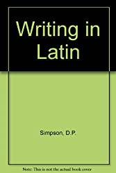 Writing in Latin