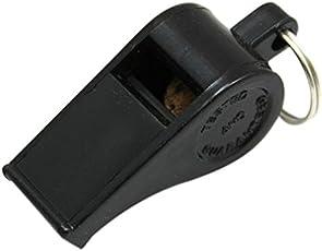 Martin Sports Plastic Whistle, Sold in Dozens, Small, Black