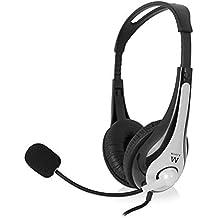 Ewent Ew3562 Cuffia Professionale con Microfono per PC con Controllo  Volume e5c4ce685b00