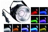 Par LED licht,TOM 40W RGBW COB par Licht polierten aluminum reflektor lichter und kleine kuppel len und 7 dmx512 kanal bühnenlicht für hochzeit/partei/theater