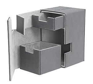 Ultimate Guard FlipŽnŽTray Deck Case 100+ Caja de Cartas Tamaño Estándar XenoSkin Gris