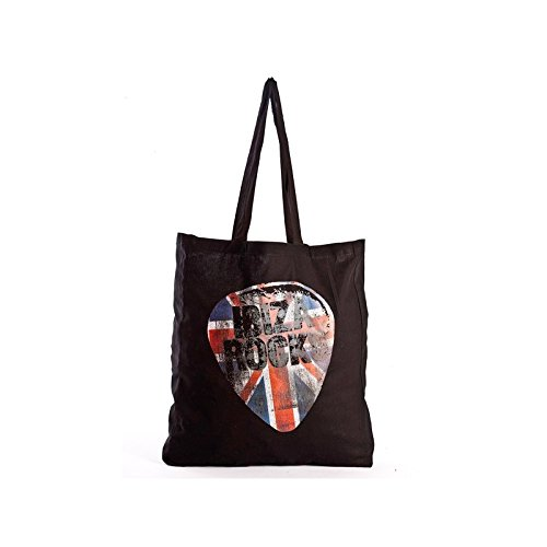 Ibiza Rocks: Borsa Shopping Union Jack Nero