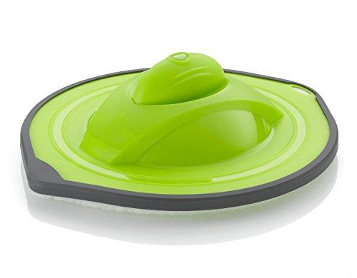 Staubwischroboter Slim mit waschbarem Staubpad (1,8W, 2,4V, 600mAh, flach) grün ()