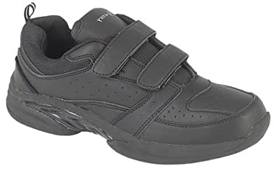 "Mens Casual Trainers - Style Name ""Ridell"" (7, Black)"