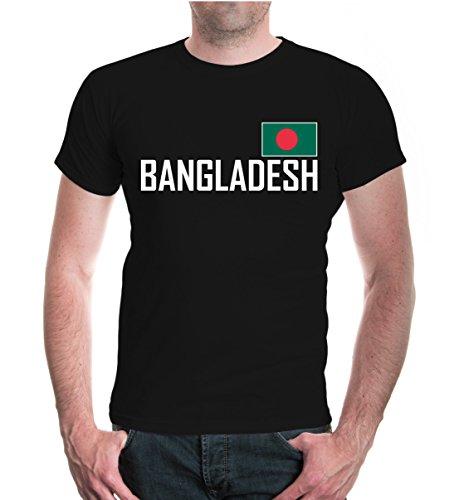 buXsbaum® T-Shirt Bangladesch Black-