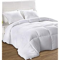 Utopia Bedding Légère Couette - Couette en Microfibre - (Blanc 200 x 200 cm)