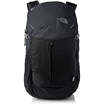 The North Face Mochila, Unisex, Litus 22-Rc Asphltgr/Tnfblk, Talla