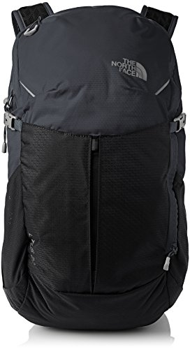 The North Face Mochila, Unisex, Litus 22-Rc Asphltgr/Tnfblk, Talla Única