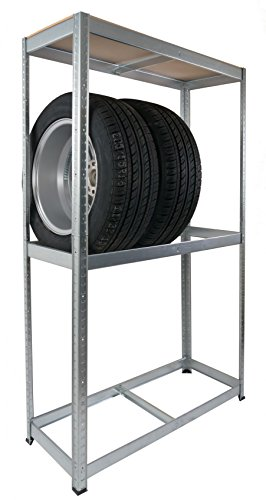 Autoreifen-Steckregal Werkstatt-Regal Reifenlagerung Reifenregal Schuppenregal