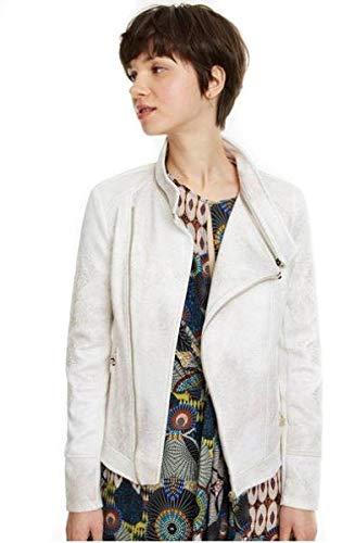 Desigual - Cazadora Marble Mujer Color: 1031 Talla: Size 42