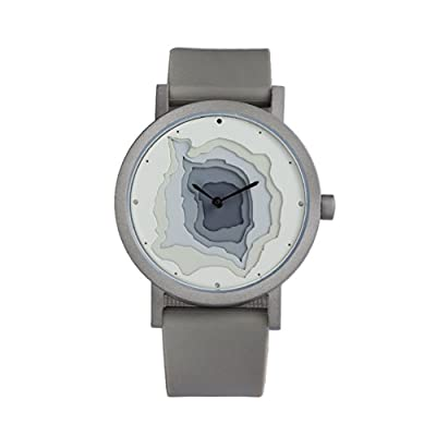 Projects Watches Terra-Time 7300 Reloj Acero inoxidable cepillado de Projects Watches