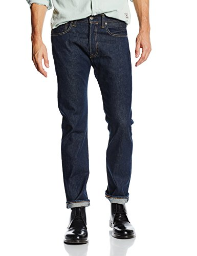 Levi's Herren Jeans 501 Original Straight Fit Blau (Noten 2317)