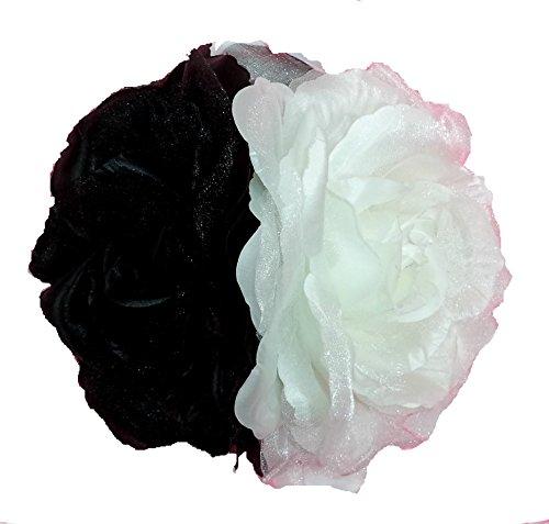 LBA Kopfschmuck Kopfschmuck Blume für Sevillana-Kostüme Verschiedene Blumen und Farben Einheitsgröße, Mehrfarbig One - Sevillana Kostüm